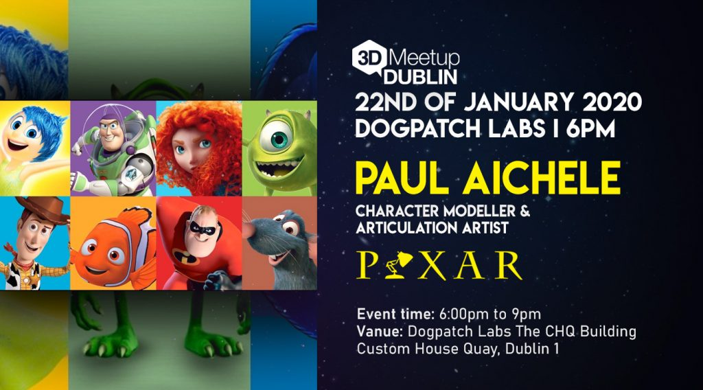 Paul Aichele: A 20 Year Retrospective of making Pixar Characters